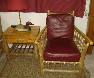 Old Hickory Furniture Living Room Chair Rustic Log Cabin