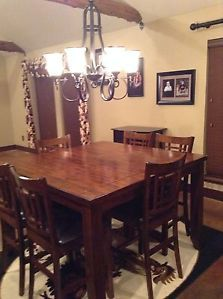 Pub Style Dining Room Table Chairs