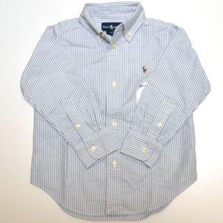 Polo Ralph Lauren Boys Oxford Dress Shirt Long Sleeve Kids Button Down V652