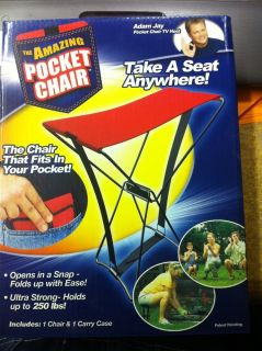 New as Seen on TV The Amazing Pocket Chair Really Cool