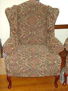 Pennsylvania House Queen Anne Wing Back Chairs