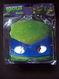 Nickelodeon TMNT Party Supplies Masks 8 Pack Teenage Mutant Ninja Turtles