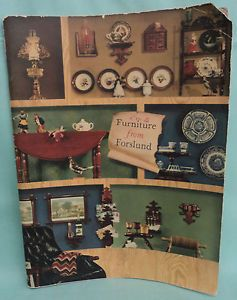 Vintage 1959 Carl Forslund Furniture Accessories Catalog Grand Rapids MI