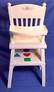 American Girl Bitty Baby Infant Doll High Chair Complete