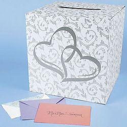 Double Heart Card Box Party Wedding Supplies