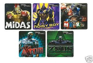 15 Real Steel Movie Stickers Kid Robot Party Goody Loot Bag Filler Favor Supply