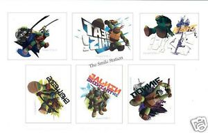 12 Teenage Mutant Ninja Turtle TMNT Temporary Tattoos Kid Party Bag Favor Supply
