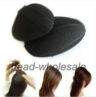 1x Fashion Magic Foam Sponge Hair Styling Donut Bun Maker Twist Tool Accessory