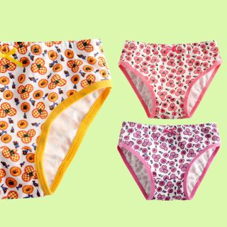 """3 Pcs New Vaenait Baby Toddler Kids Girl Underwear Briefs Pantie Set """"Hanna"""""""