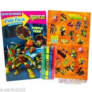 Teenage Mutant Ninja Turtles Team Play Pack Birthday Party Supplies Favors