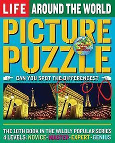New Picture Puzzle Around The World by of Life Editors Paperback Book English