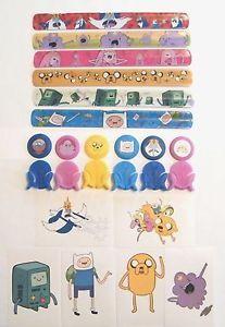 Adventure Time Toys Party Favors 36 with Snap Bracelets Mini Launchers Etc