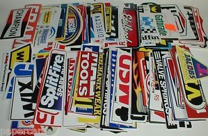 25 Grab Bag NASCAR Dirt Bike Race Car Go Kart Decal Stickers Boys Party Supply