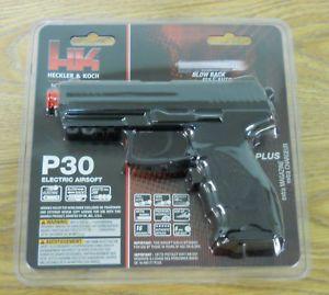Umarex H K P30 Electric Airsoft Pistol Blowback Black