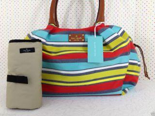 Kate Spade Key West Stevie Baby Bag Stripes Classic Diaper Bag WKRU1917