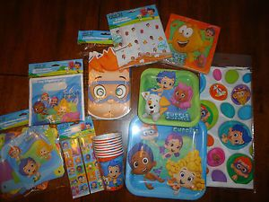 Bubble Guppies Birthday Supplies Set of 8 Bubble Guppies Party Favors