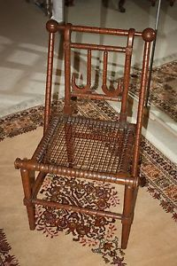 Hunzinger Chair Victorian Side Chair Antique Vintage 19th Century Aesthetic