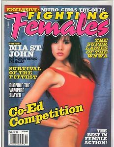 Fighting Females Wrestling Magazine Diva's Nitro Girls Mila St John Spring