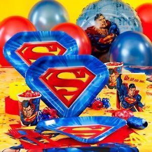 Thomas Birthday Party Supplies Plates Napkins Train Whistles Swirls