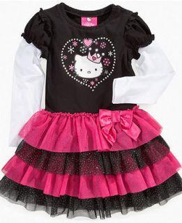 New Sanrio Hello Kitty Layered Tutu Dress Size 2T 3T