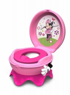 Disney Minnie Mouse Baby Toddler Potty Seat Chair Train Child Step Stool Toilet