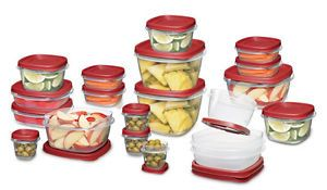 Rubbermaid Plastic Storage Containers
