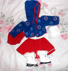 American Girl Molly Skating Outfit