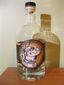 "Hand Signed ""Empty"" Tim Smith Moonshine Moonshiners Bottle Popcorn Sutton"