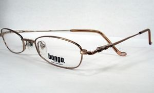 Bongo Lucky Brown Women Teens Girls New Eyeglasses Frames Eyewear