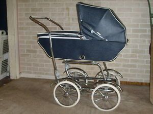 Antique Wonda Chair Baby Carriage Buggy with All Accessories Instruction Book