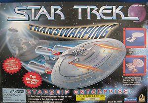 Star Trek Transwarping Starship Enterprise Playmates
