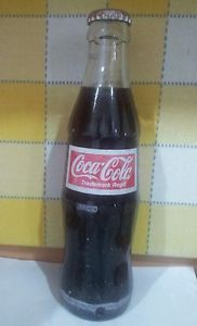 Coca Cola India Empty Bottle Glass 2012 200ml The Bottle Is Old