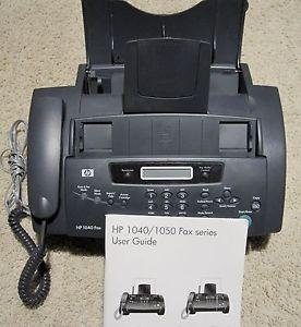 HP 1040 Inkjet Fax Machine Telephone Handset Scanner w User Guide