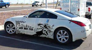 Custom Wrap Anime Bleach Design Car Vinyl Graphics 60