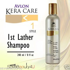 Avlon Kera Care 1st Lather Shampoo Ph 4 5 Sulfate Free Hair Care Shampoo 8oz