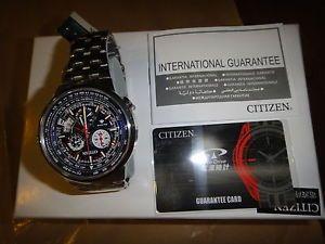 Citizen Promaster Eco Drive Global Radio Titan'M BY0010 52L H610