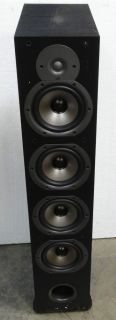 Polk Audio New Monitor 75T Four Way Ported Floorstanding Loudspeaker Black Each