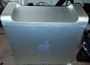 Apple Mac Pro G5 Dual 2 GHz Power PC Model A 1047 4GB RAM 2 Hard Drives