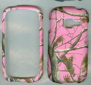 Pink Real Tree Camo Samsung Galaxy Centura S738C Profile Phone Case Hard Cover