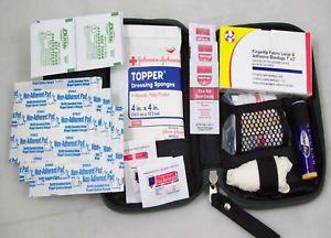 ★ First Aid Kit Glove Box Kit 40pc Emergency Car Kit ★new Reusable Boat RV