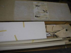 Vintage R C Kits Mfg Heinkel 51 Biplane Balsa Foam Model Airplane Kit