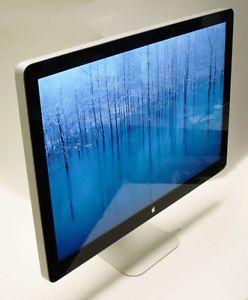 "Apple 27"" Cinema Display LED Flat Panel A1316 Near Perfect"