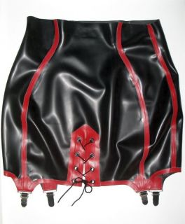 Sexy Latex Girdle Rubber Gummi Strapsgürtel TV CD Transvestite