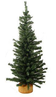 "12"" Mini Pine Artificial Village Christmas Tree Unlit"
