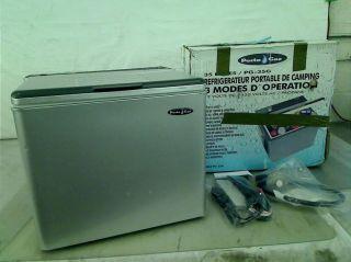 Porta GAZ 61211 Silver 3 Way Portable Gas Refrigerator