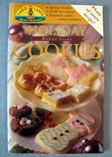 Land O Lakes Holiday Cookies Magazine 1999 Recipe Collection Bonus Issue Booklet