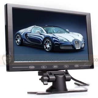 9 inch Color TFT LCD Screen Car Monitor 2CH Video Input for Car Security System