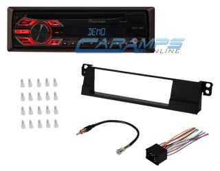 ★E46 3 Series Pioneer Car Stereo Radio w Dash Installation Kit Wiring Harness★