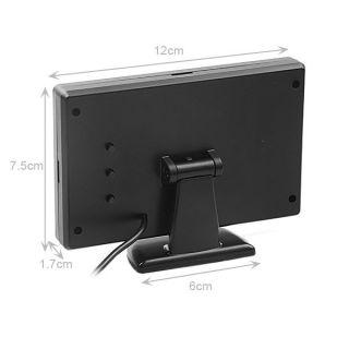 "4 3"" TFT LCD Car Rear View Reverse Color Camera Monitor Reversing DVD VCR CCTV"