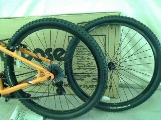 Mongoose Men's Montana Mountain Bike Matte Orange Medium $199 99